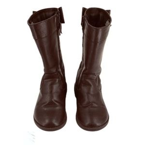 The Children's Place Brown Tall Boots with Bows